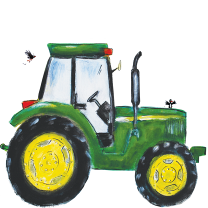 Pjut john deere groene tractor