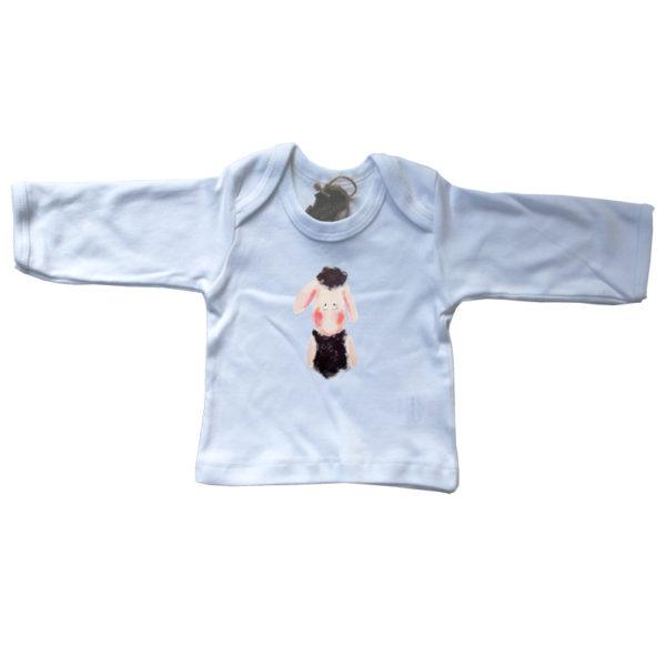 gots, baby, shirt, envelophals, pjut, lammetje, schaapje