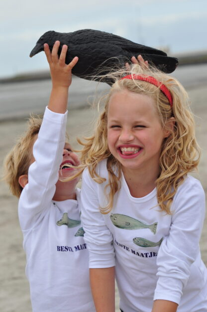 Prachtige longsleeves kinderen kids baby visserij Hollandse nieuwe haring Beste maatjes Pjut.