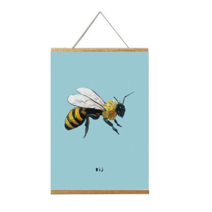 poster bij 20x30 voor de kinderkamer van atelier Pjut