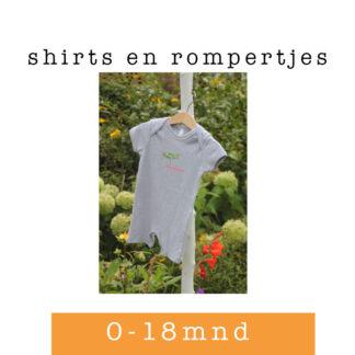 Shirtjes en rompers voor baby'tjes
