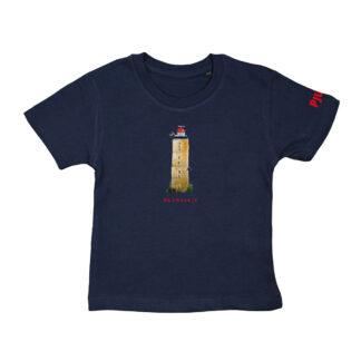 T-shirt met vuurtoren Brandaris voor kinderen van 2,3,4,5 en 6 jaar.